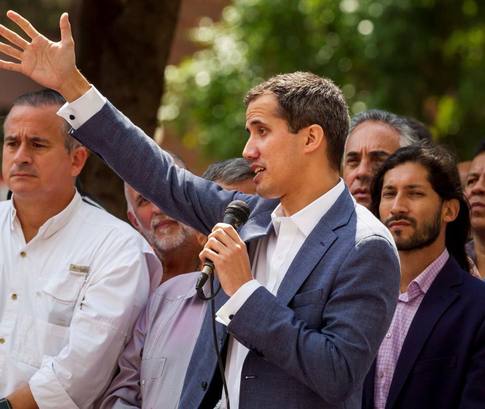Guaidó, el joven líder del arrinconado Parlamento de Venezuela