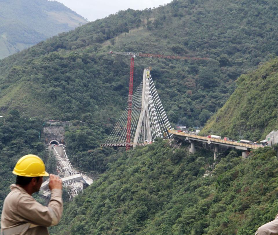 El gobernador del Meta pide construir con urgencia el puente Chirajara