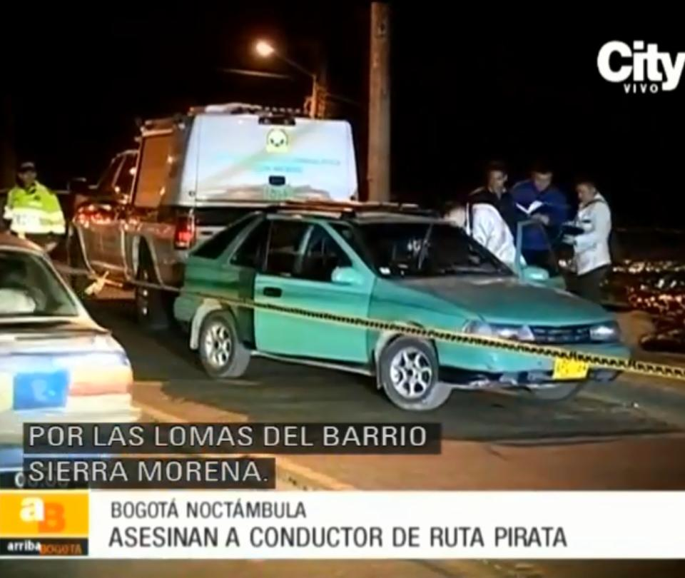 Conductor de transporte pirata fue asesinado en Ciudad Bolivar