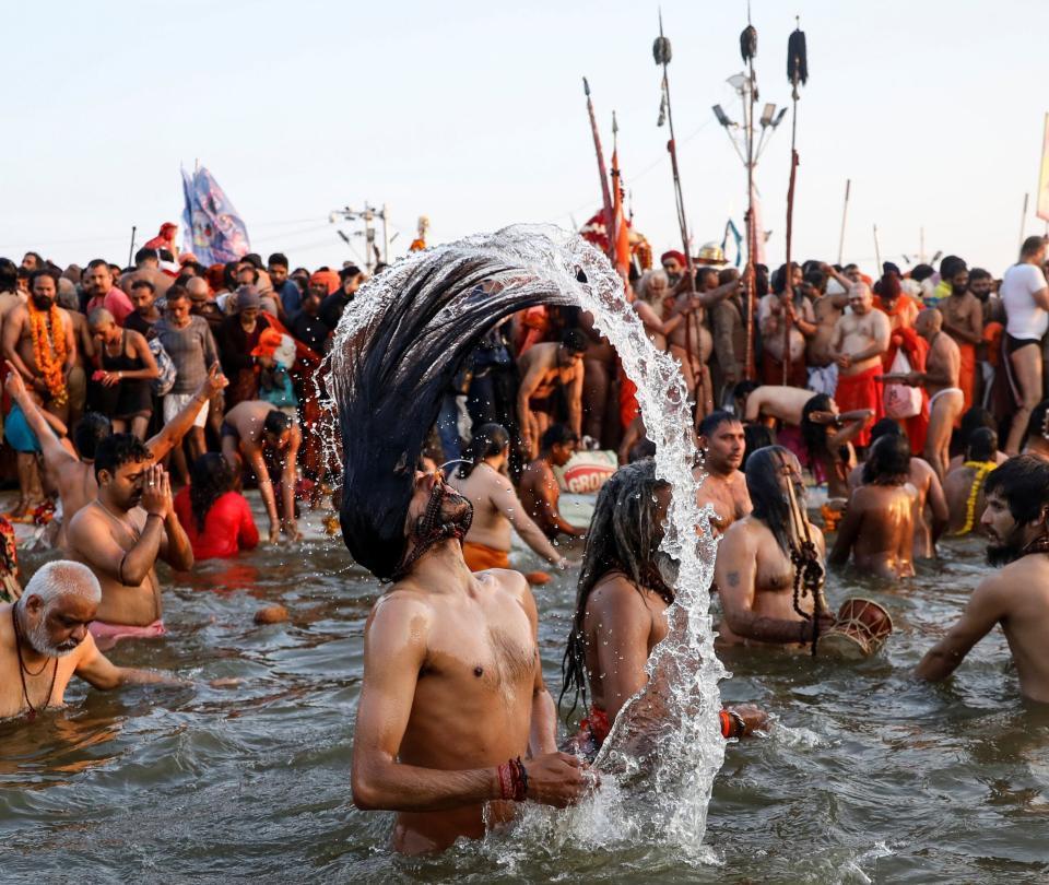 Así es el Kumbh Mela, el festival religioso más concurrido del mundo