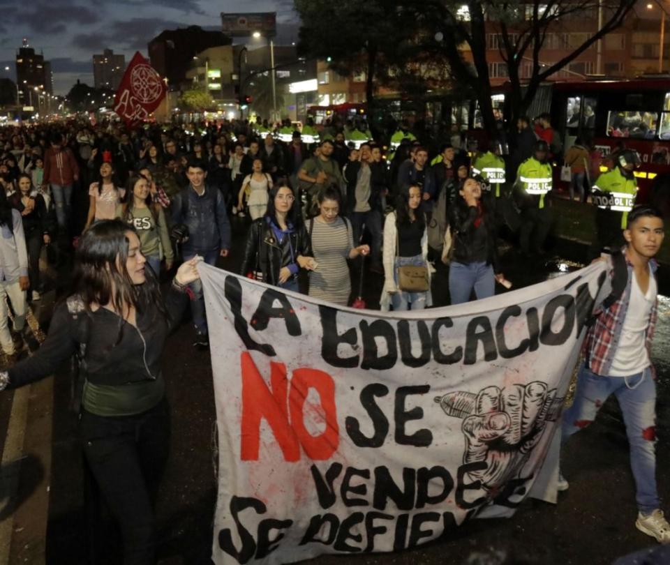 Se espera que este jueves haya concentraciones y marchas en Bogotá