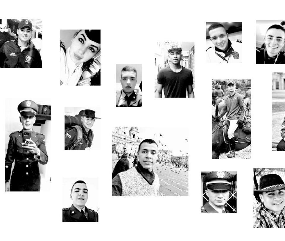 Los rostros de las víctimas del carro bomba en Bogotá