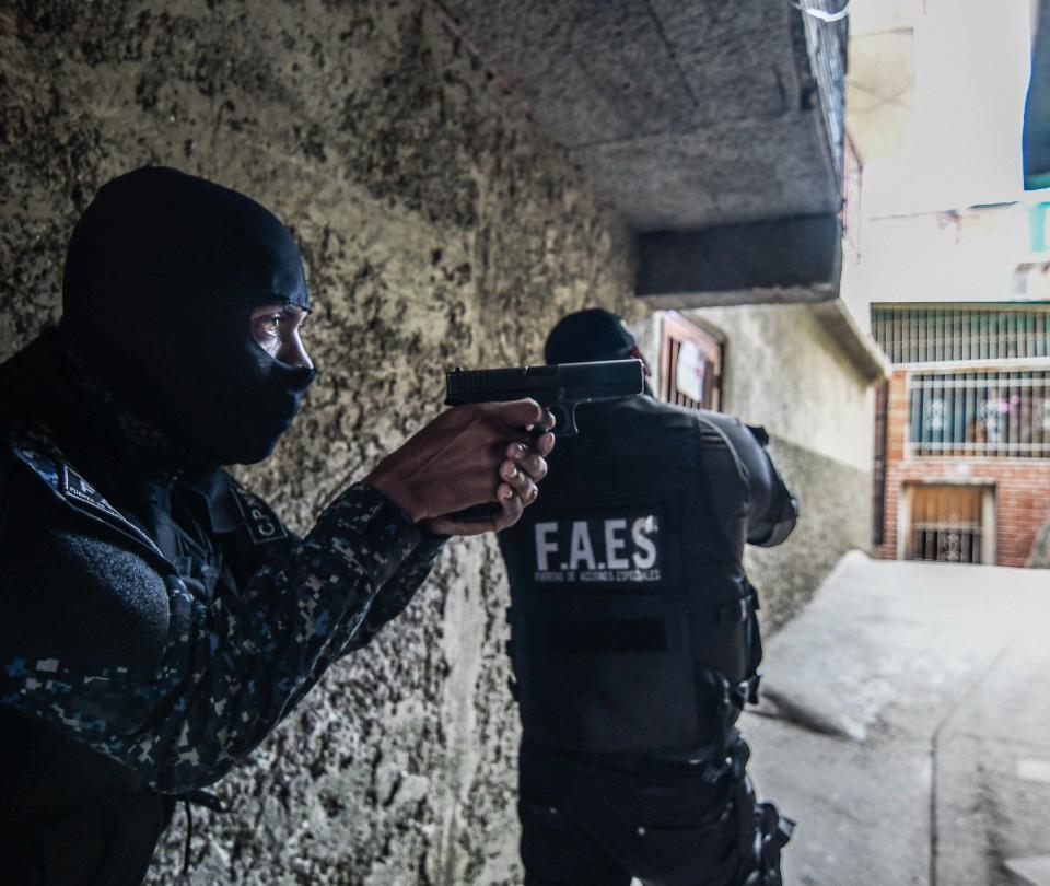 Faes, grupo élite chavista que protagoniza ejecuciones extrajudiciales