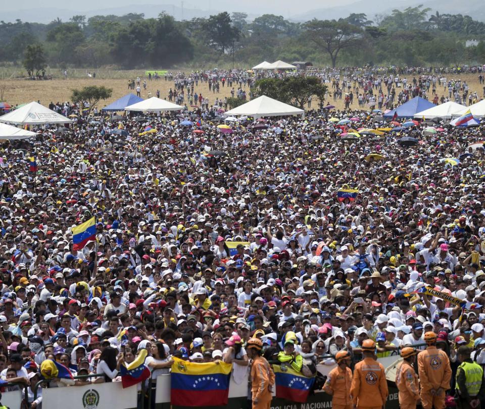 Momentos memorables del Venezuela Aid Live