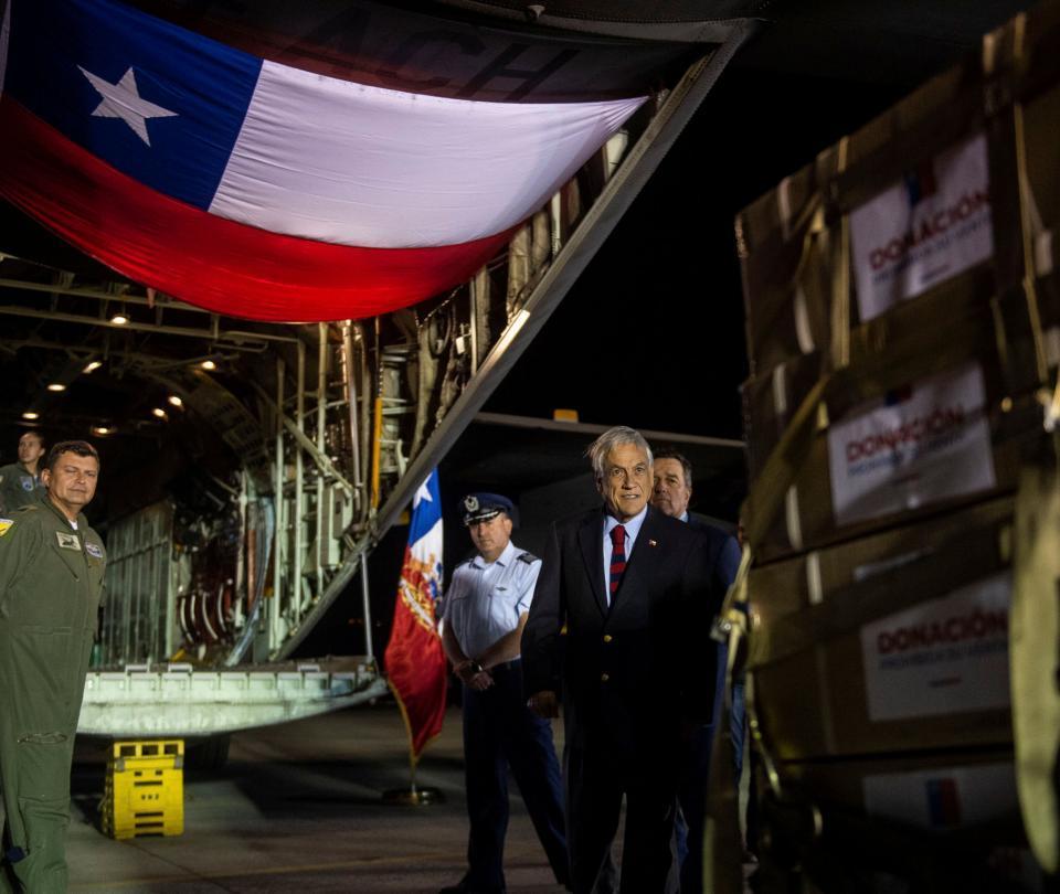 600 toneladas de ayudas, listas para cruzar a Venezuela