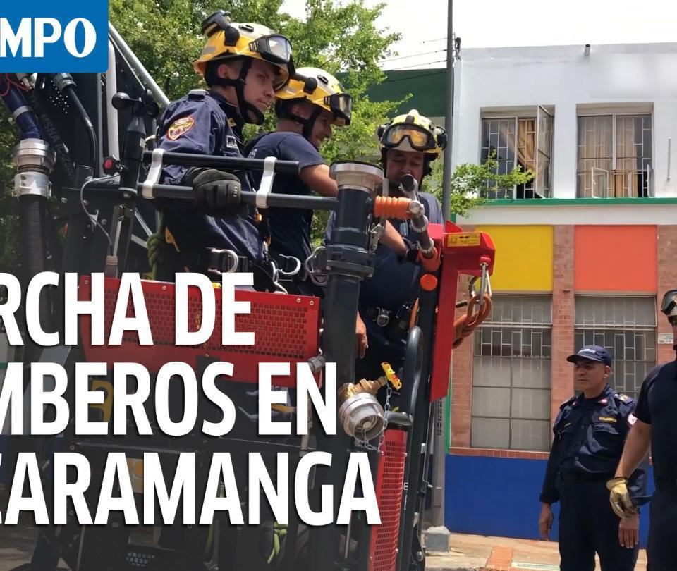 Burlas por 'sobrepeso' llevaron al psicólogo a bombero de Bucaramanga