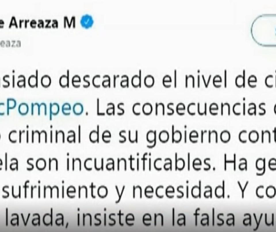 Lo que el Gobierno de Maduro no quería que se dijera en la TV alemana