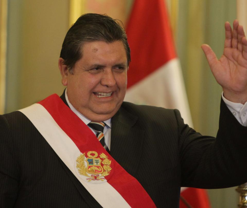 El pésame de políticos colombianos por muerte de Alan García