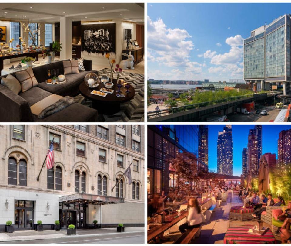 Hoteles de Nueva York que brillan por su arquitectura y confort