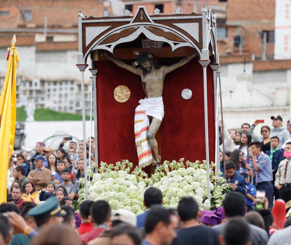 Así se está viviendo la Semana Santa en Colombia