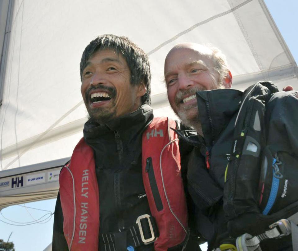 Por primera vez, un ciego cruza el Pacífico navegando a vela