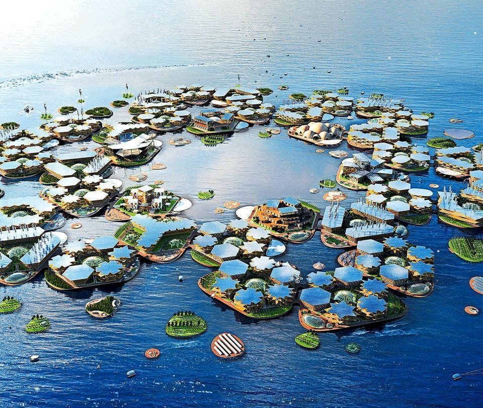 Oceanix, la ciudad flotante a prueba de huracanes