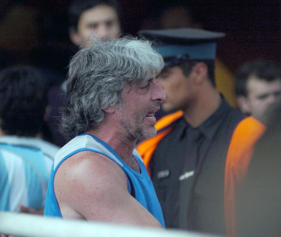 Di Zeo, líder de la barra brava de Boca, fue deportado desde Bogotá
