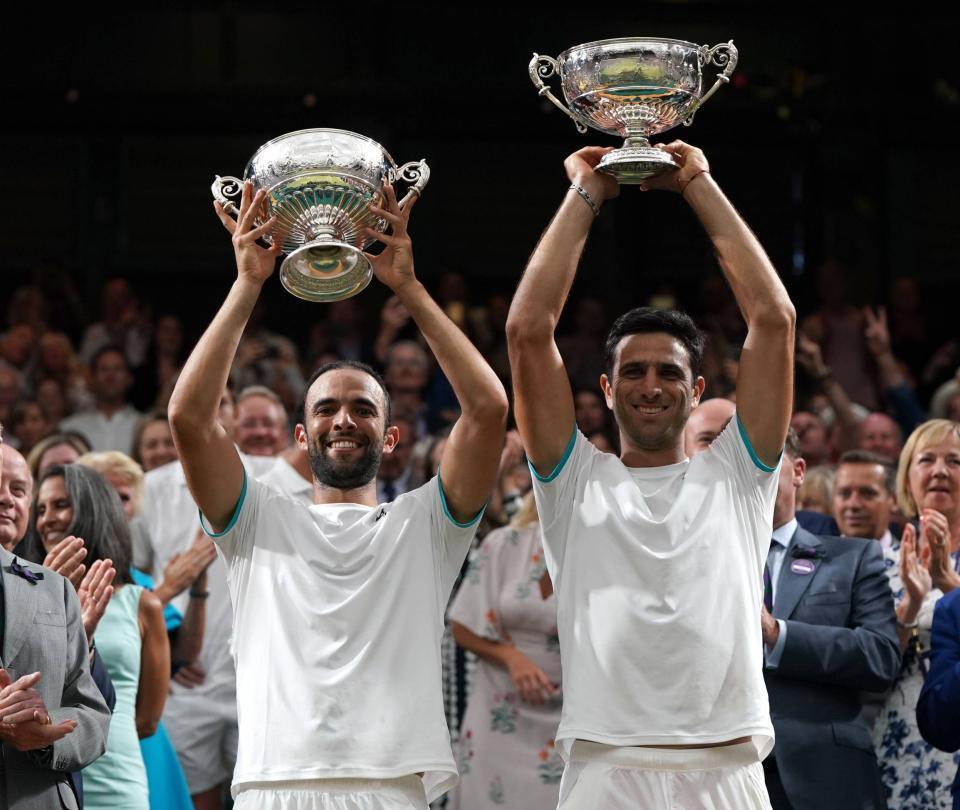 Se cumple un año del título de Cabal y Farah en Wimbledon