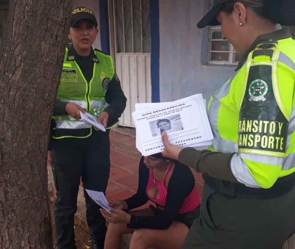 Niña desaparecida en Cúcuta fue encontrada en frontera con Venezuela