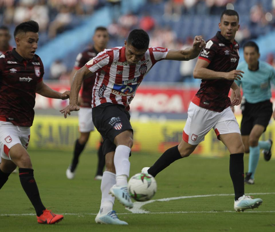 Santa Fe sigue sin gol y sin triunfo: perdió en su visita a Junior