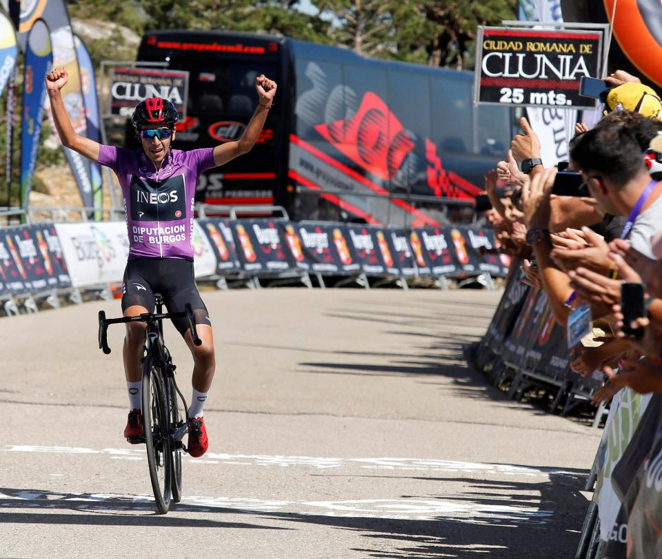 Iván Ramiro Sosa, el gregario campeón de la Vuelta a Burgos