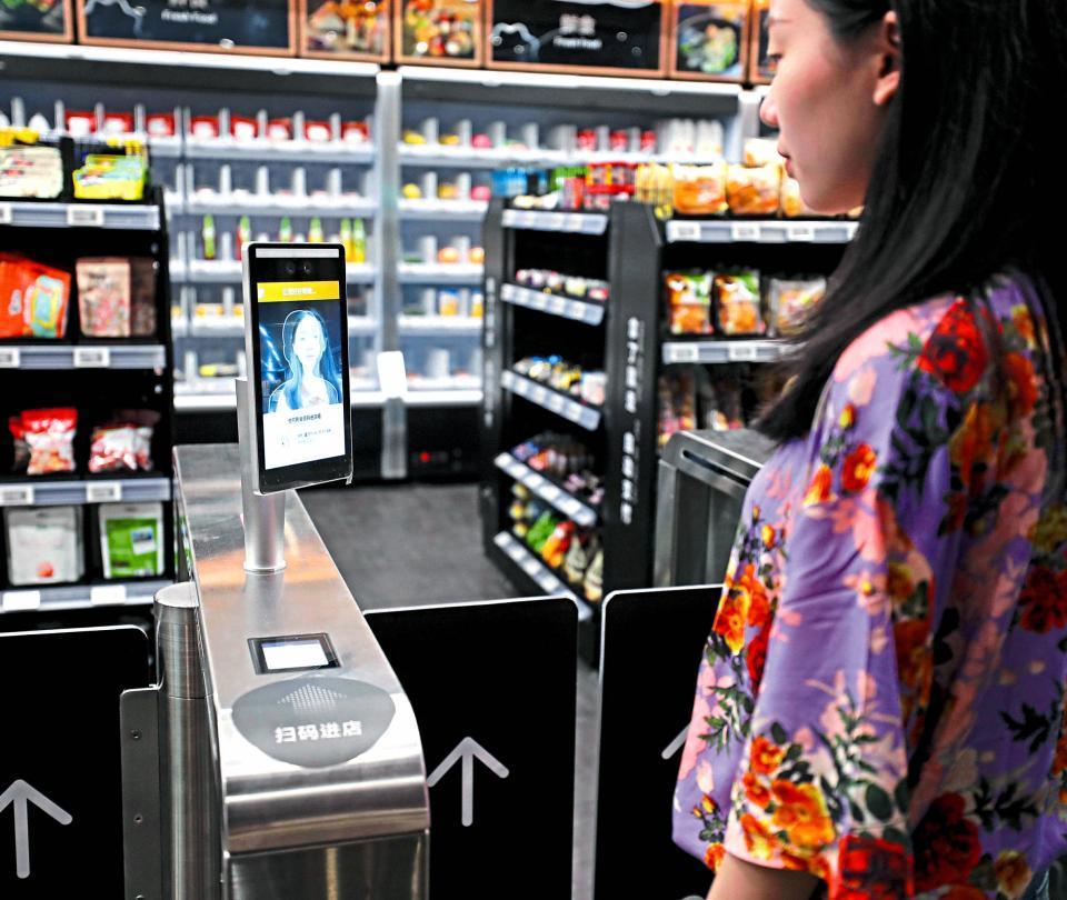 Pagar las compras con la cara, una tendencia que aumenta en China