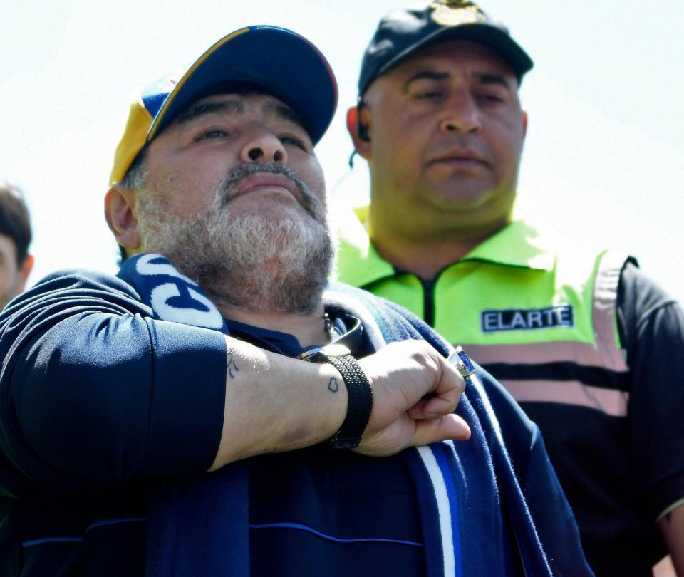 Maradona cambia de planes y Gimnasia celebra