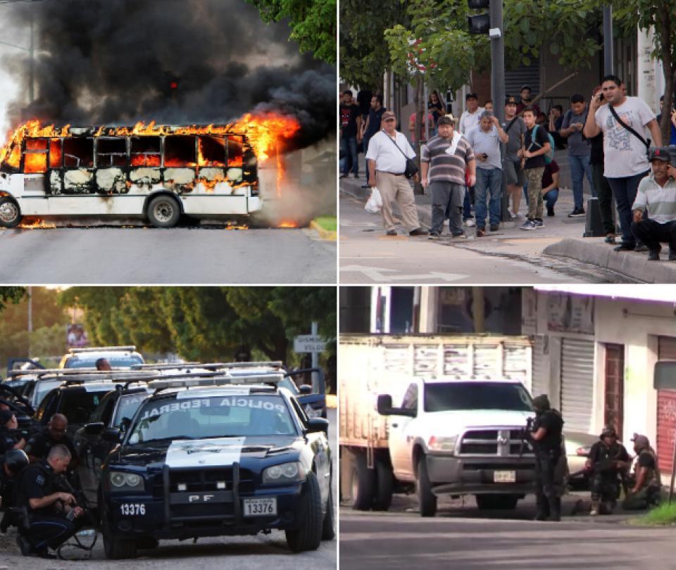 Instantes de terror vividos en Culiacán por captura del hijo del Chapo