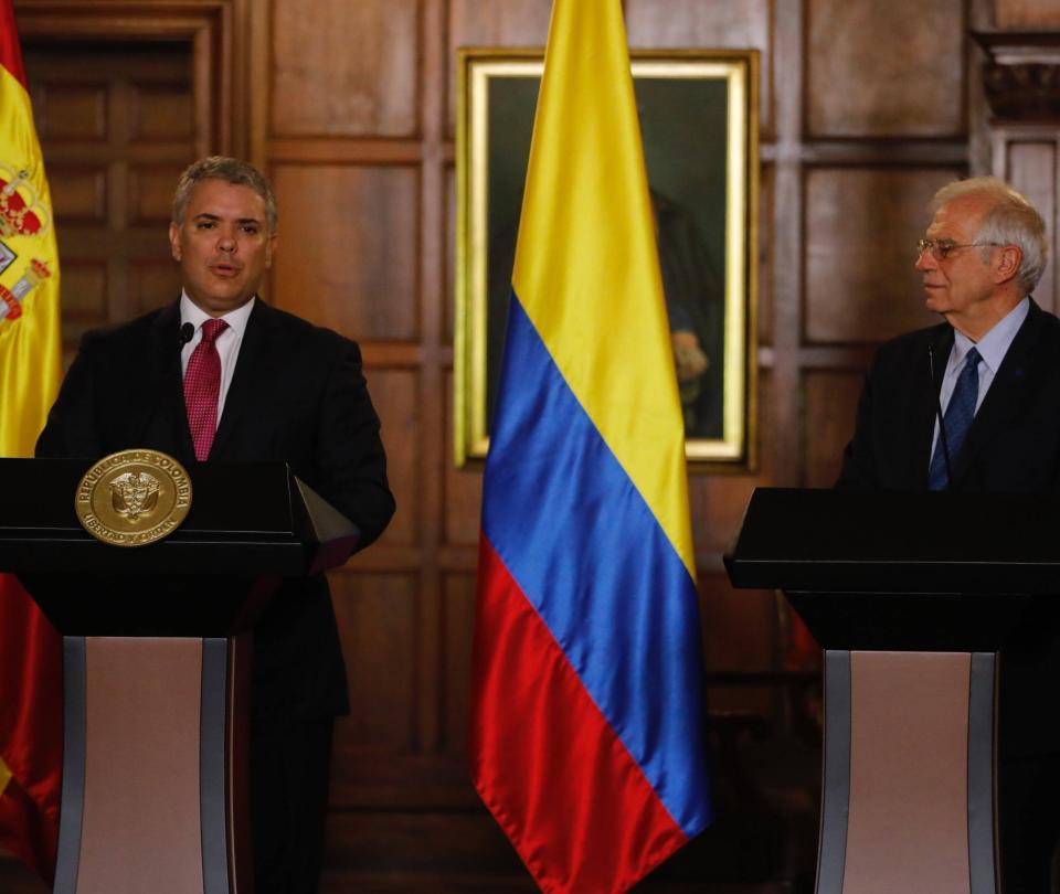 'Unidad de España es importante para el mundo': Duque sobre Cataluña