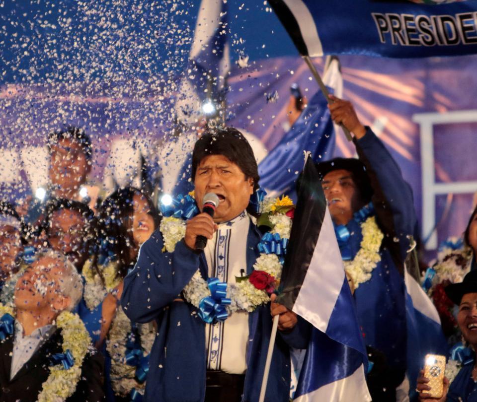 Luego de 13 años en el poder, Evo busca un nuevo mandato en Bolivia