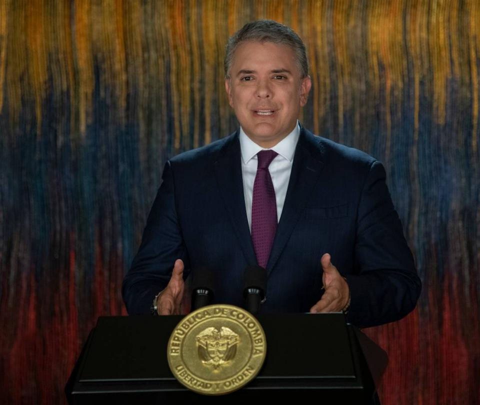 'Hoy hablaron los colombianos, los estamos escuchando': Duque