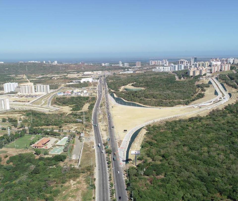 Barranquilla estrena vía que descongestiona el norte de la ciudad