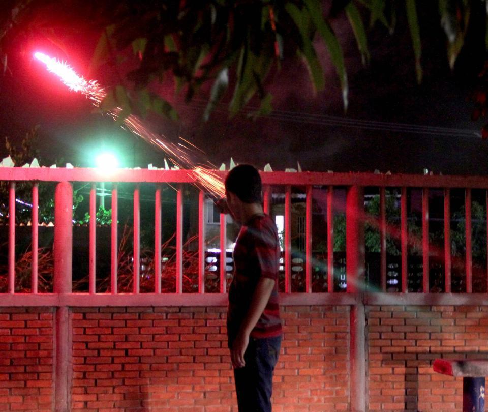 Reportan los dos primeros casos de quemados con pólvora en Santander
