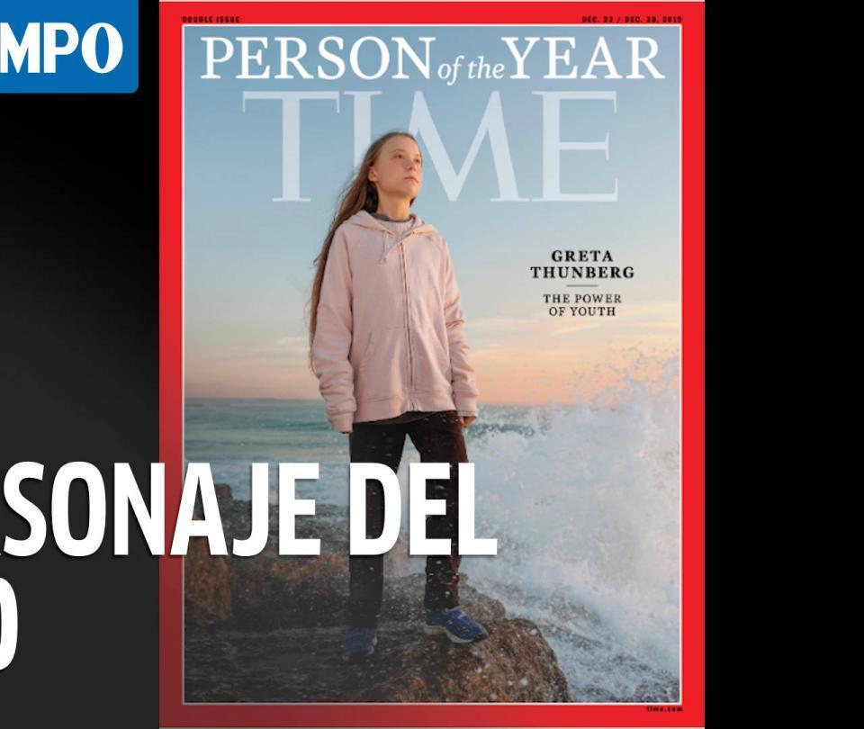 Greta Thunberg es el personaje del año, según la revista Time