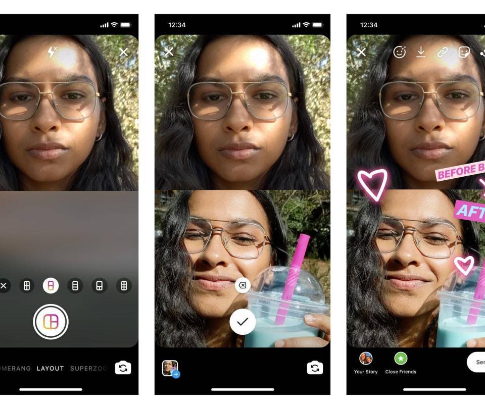 Ahora puede poner varias fotos en una misma historia de Instagram