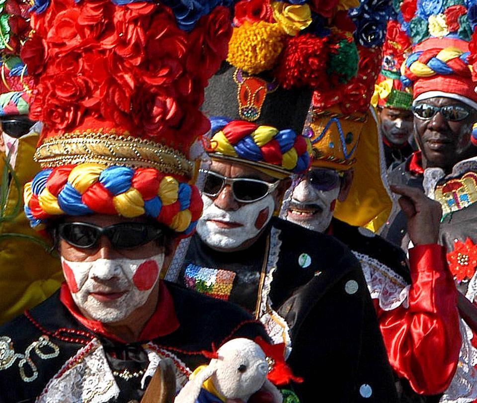 El Congo Grande, los guerreros del Carnaval de Barranquilla
