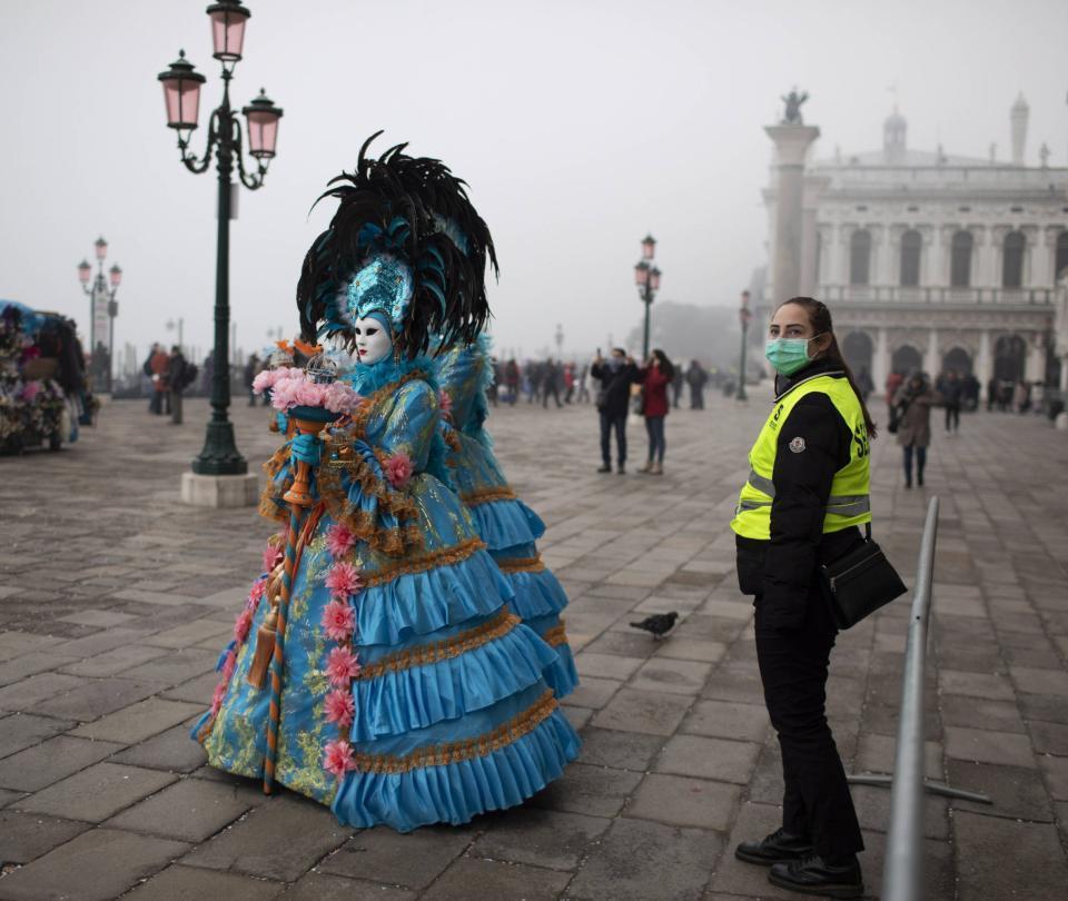 Por el Coronavirus, cancelan el carnaval de Venecia