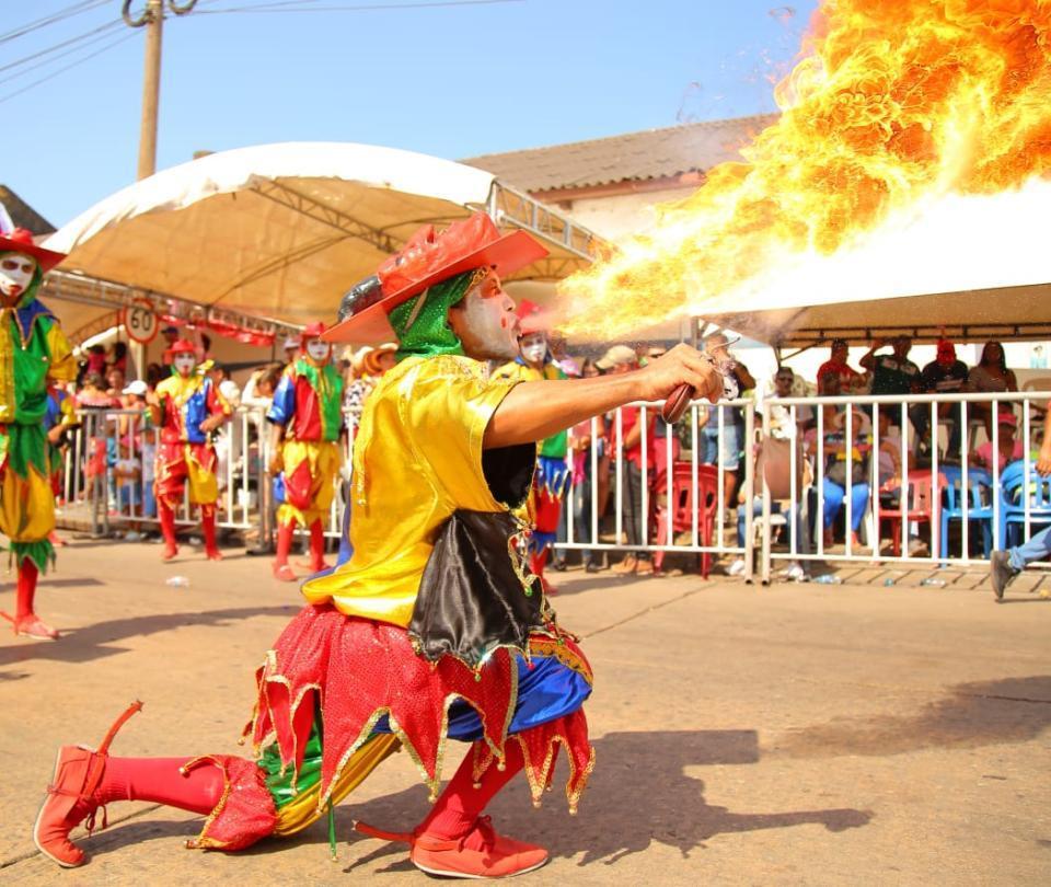 Carnaval en los pueblos del Atlántico también fue en paz
