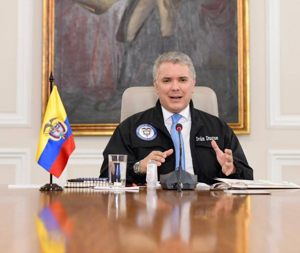 Colombia, el cuarto país de la región que más hace pruebas PCR: Duque