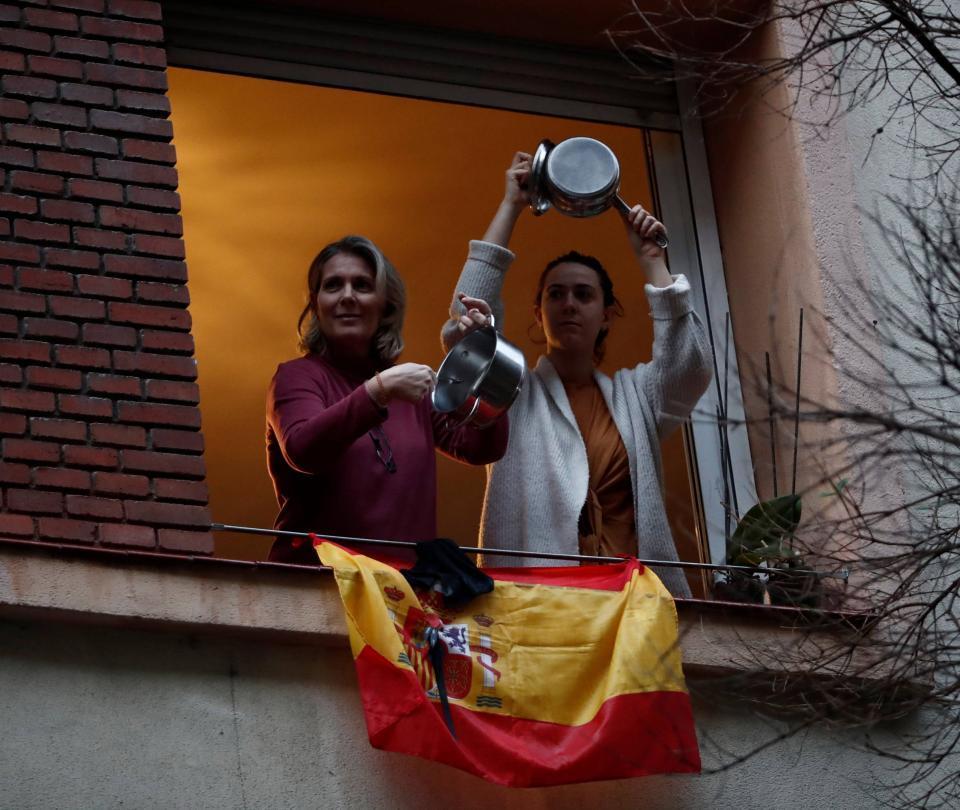 Las protestas con las que se pide la renuncia de Sánchez en España