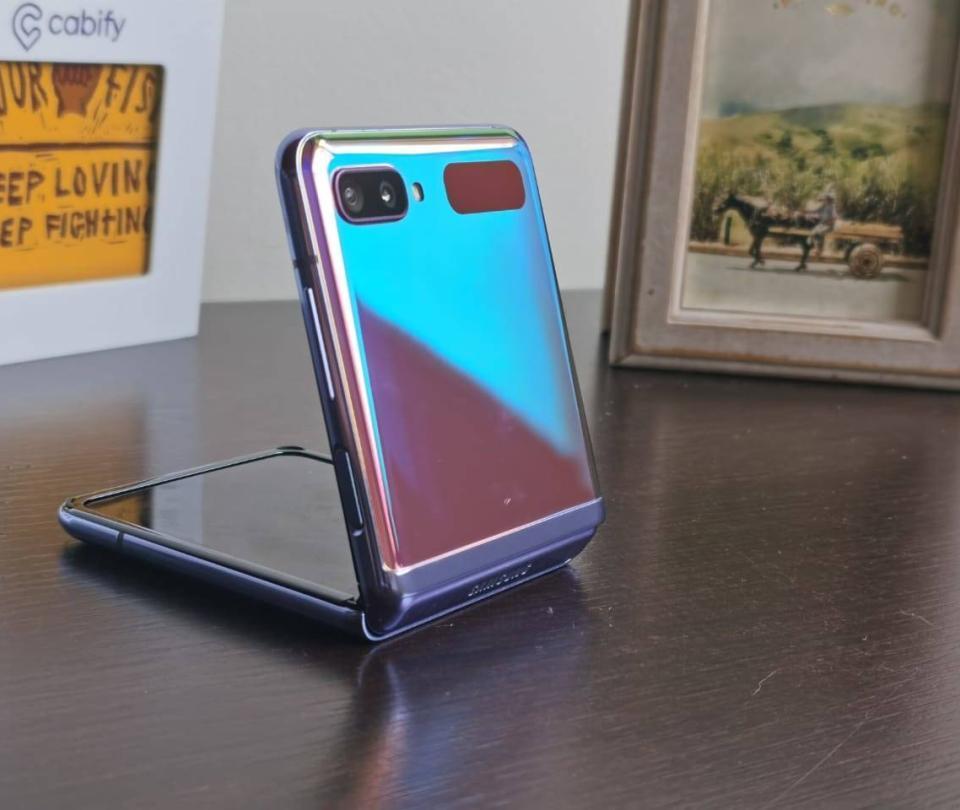 Galaxy Z Flip: un plegable que lo puede hipnotizar