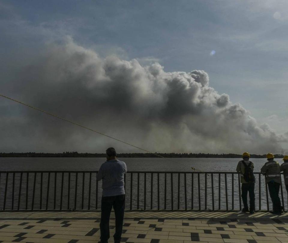 Presentarán proyecto contra incendios en el Parque Isla Salamanca