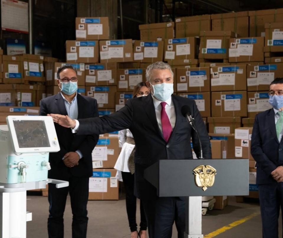 Gobierno espera tener 4.623 ventiladores en las próximas seis semanas