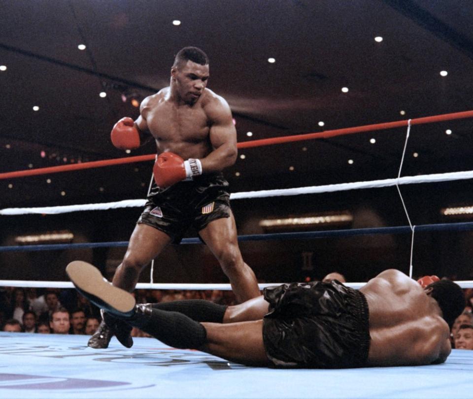 Auge y caída: el retorno del célebre y controvertido Mike Tyson