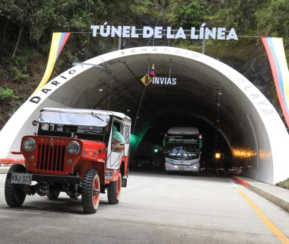 Cierre nocturno en túnel de La Línea será hasta el próximo miércoles
