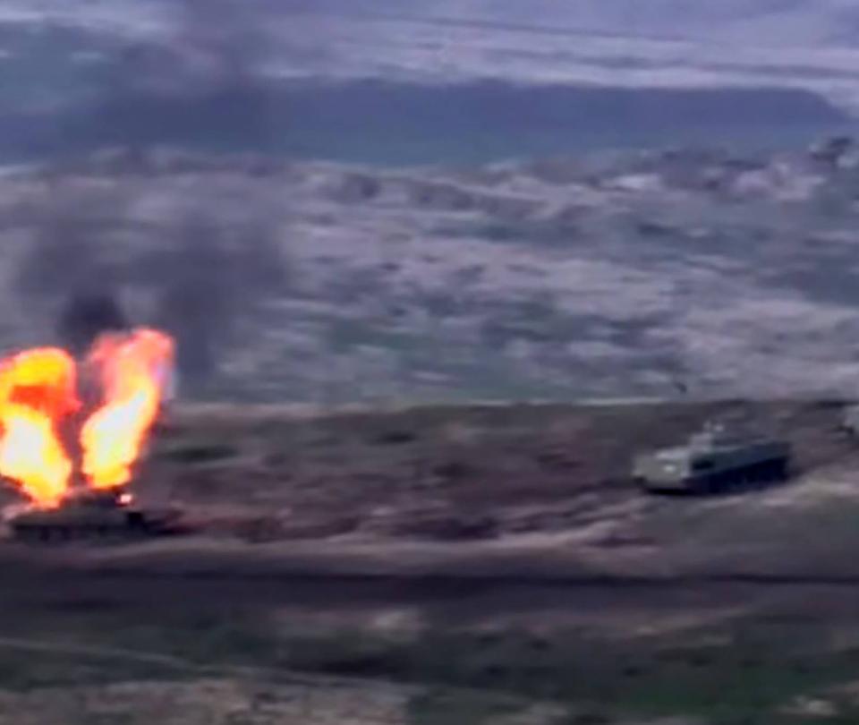 Violentos combates entre Azerbaiyán y separatistas armenios