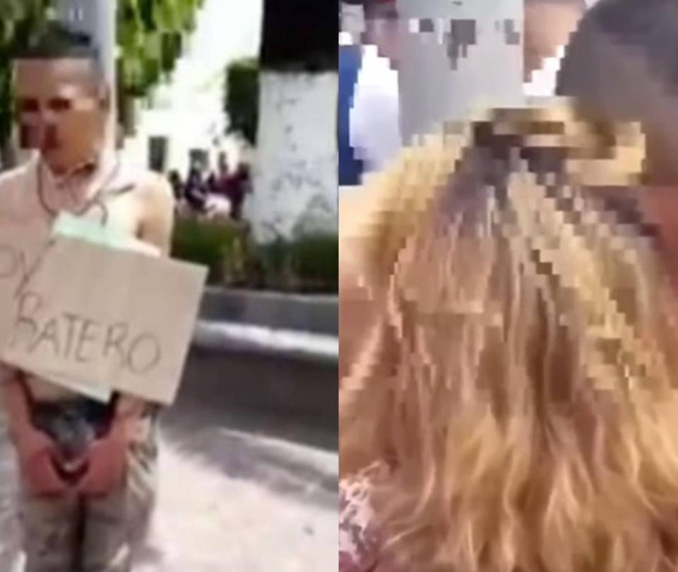 Video: madre de presunto ladrón lloró y pidió que no le hicieran daño
