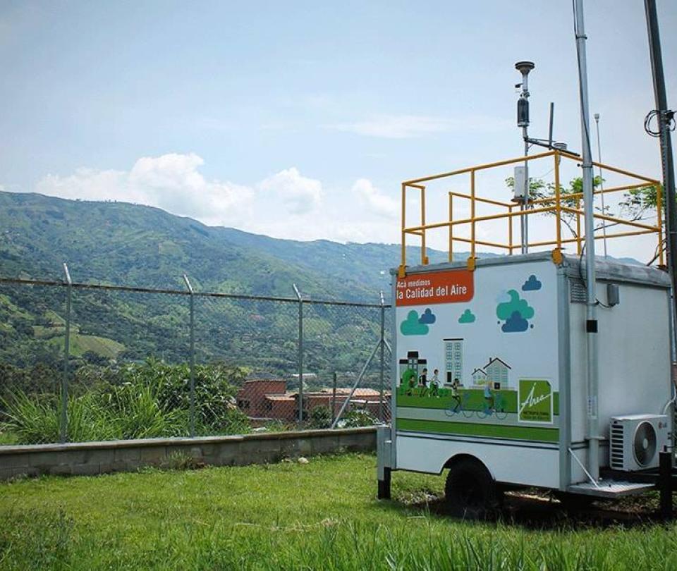 Girardota devuelve su estación que mide la calidad del aire