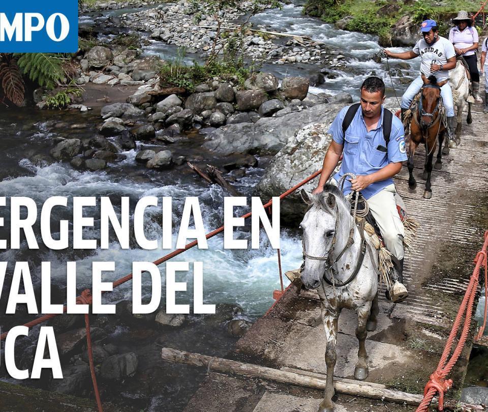 Lluvias causan emergencias en el Valle del Cauca