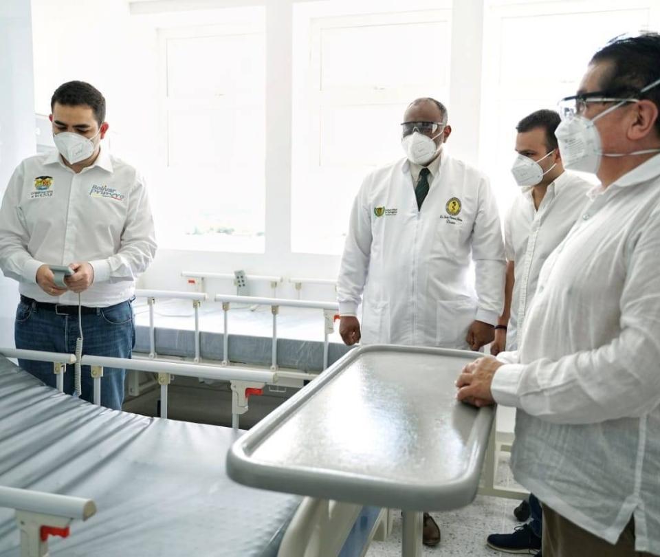 Hospital Universitario del Caribe listo para combatir posible rebrote
