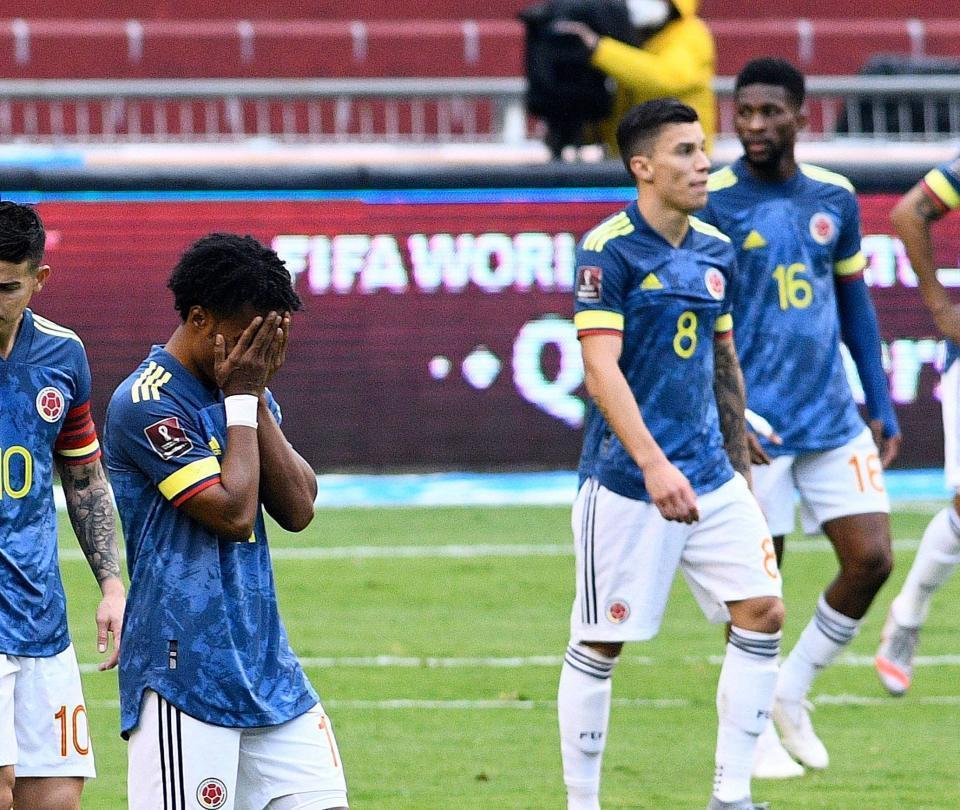 La Selección Colombia se cae en la clasificación Fifa