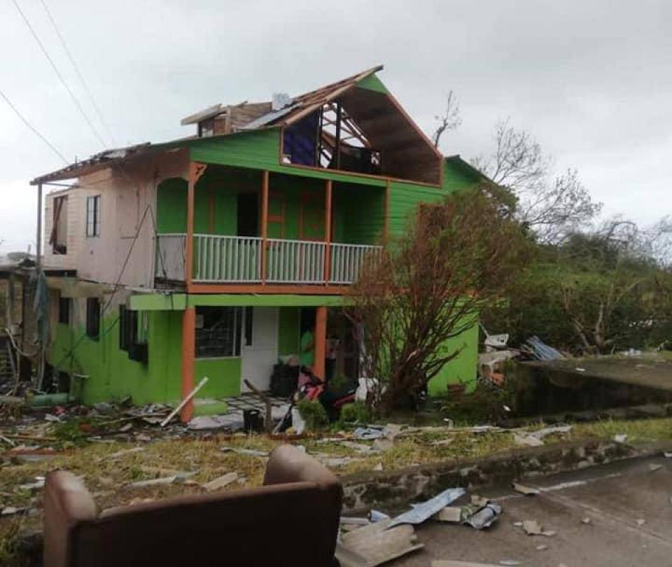 En Cartagena esperan noticias de familia desaparecida en Providencia