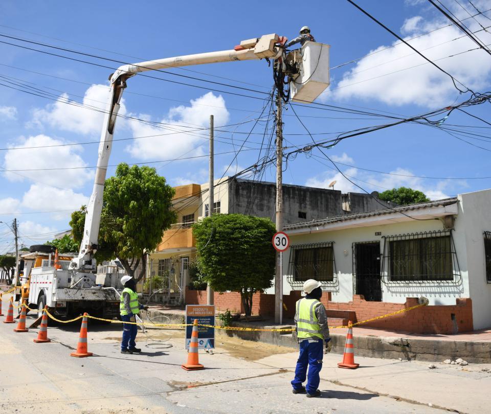 Días de apagones en Cartagena y Bolívar por trabajos de Afinia