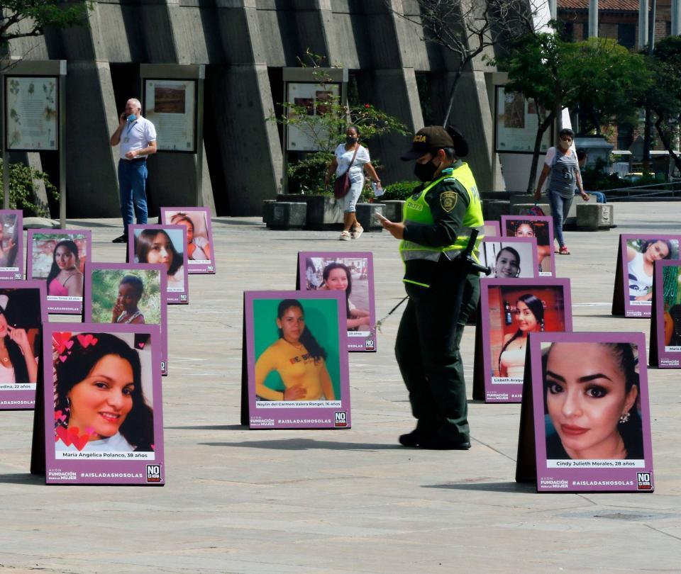 Hombre le roció gasolina y prendió fuego a su hijastra en Medellín